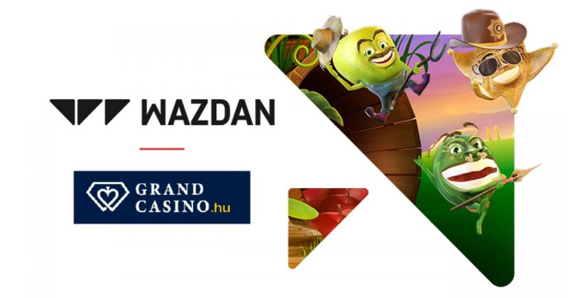 Wazdan Ventures announced its entry into the Hungarian market after a deal with Grand Casino